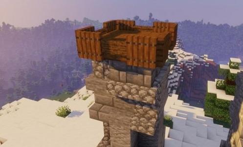 《我的世界》城堡大门建造教程