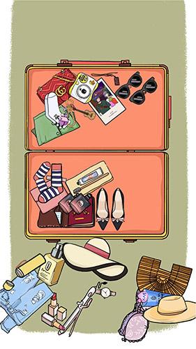 《落樱小屋》行李箱收拾整理步骤介绍