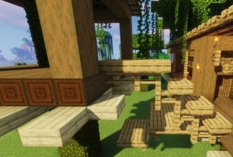 《我的世界手游》森林火柴盒建造教程