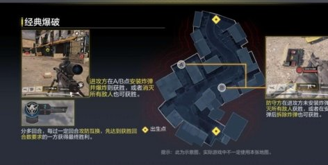 《使命召唤手游》经典爆破地图玩法介绍