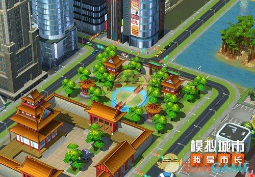 《模拟城市:我是市长》腊月园林主题建筑介绍