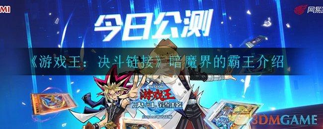 《游戏王:决斗链接》暗魔界的霸王介绍