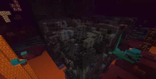 《我的世界》堡垒遗迹介绍