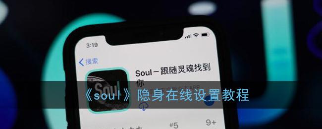 《soul》隐身在线设置教程