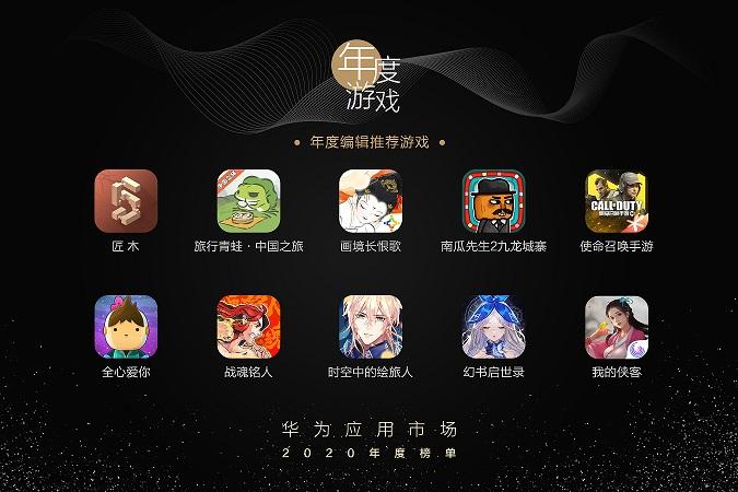 从华为应用市场2020年度游戏榜单看下一款爆款游戏趋势
