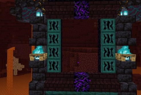 《我的世界》下界城堡建造方法