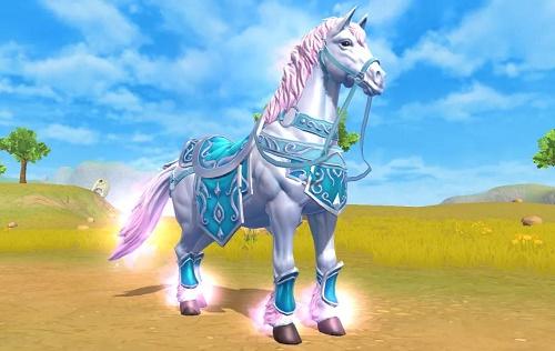 《创造与魔法》雪衣侠骑坐骑资质介绍