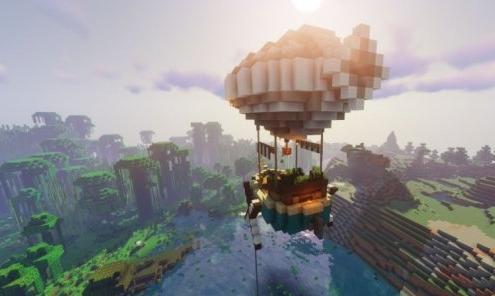 《我的世界》魔法飞艇建造教程