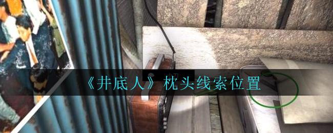 《孙美琪疑案:井底人》五级线索——枕头