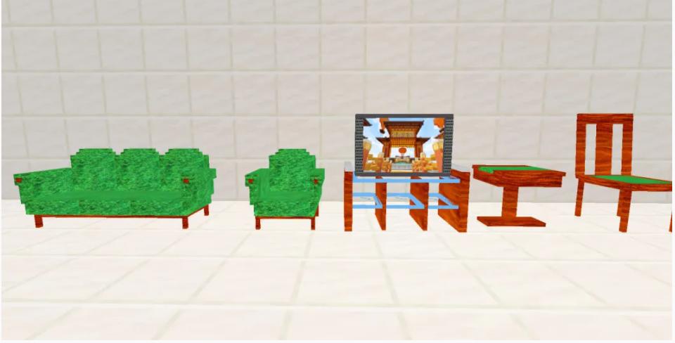 《我的世界》感恩家具模组分享