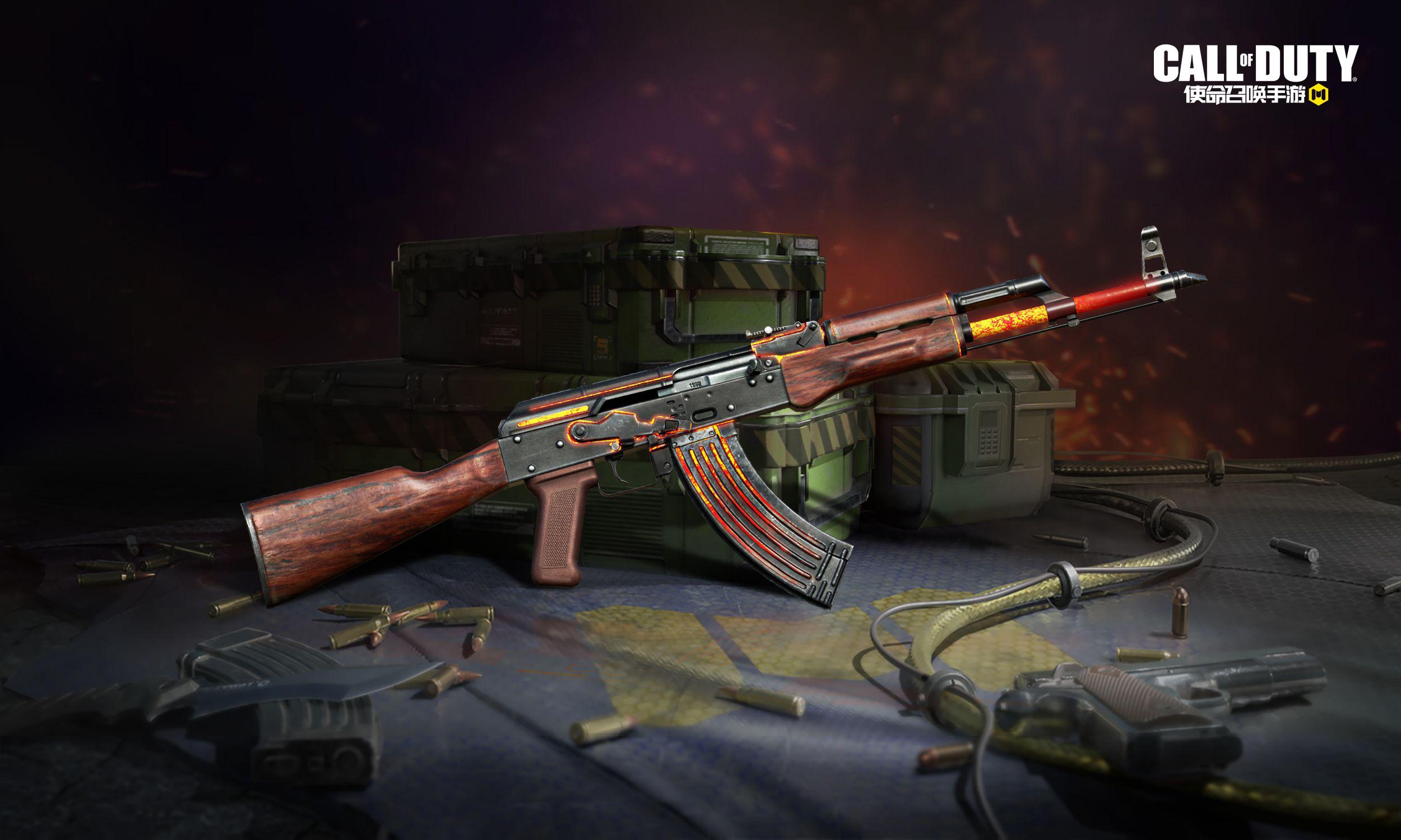CODM双持50GS强势来袭 梦魇猎手收割战场