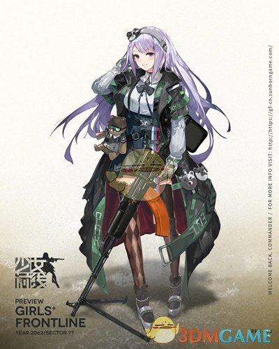 《少女前线》五星机枪人形RPK-203介绍