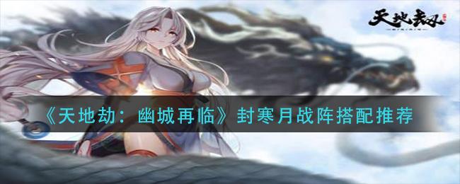 《天地劫:幽城再临》封寒月战阵搭配推荐