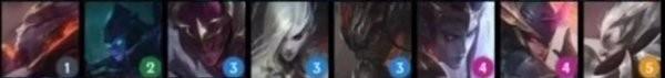 《云顶之弈手游》S5八黑夜使者阵容攻略