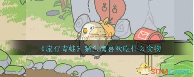 《旅行青蛙》猫头鹰喜欢吃什么食物