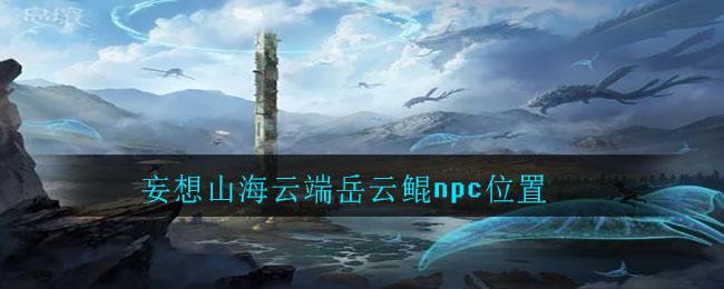 妄想山海云端岳云鲲npc位置
