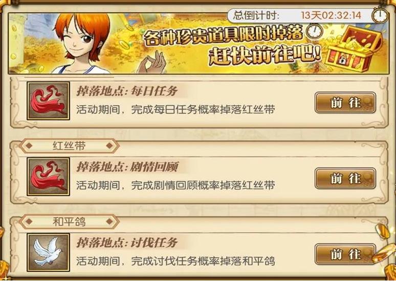 《航海王:燃烧意志》新乔巴兑换活动介绍