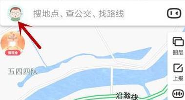 《百度地图》删除收藏方法介绍
