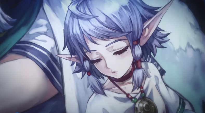 《伊苏6》手游PV影像公布 月光下的美丽精灵族少女