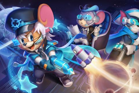 《猫和老鼠》侦探杰瑞星际统帅皮肤一览