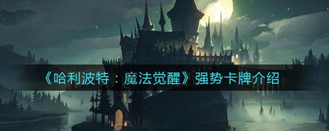 《哈利波特:魔法觉醒》强势卡牌介绍
