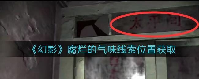《孙美琪疑案:幻影》五级线索——腐烂的气味