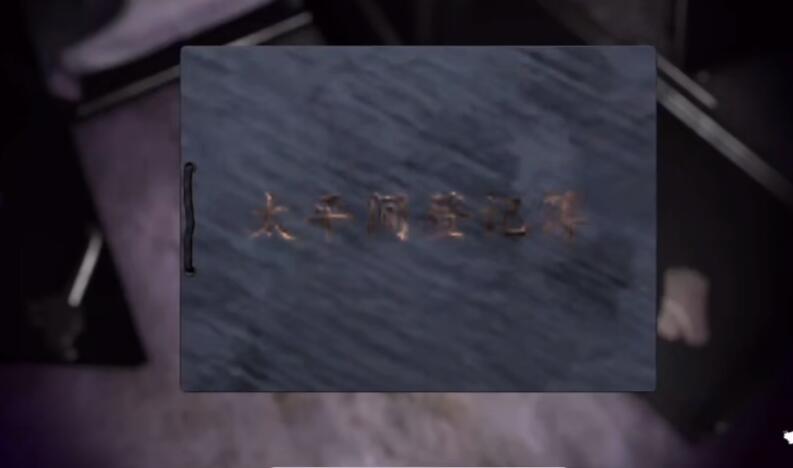 《孙美琪疑案:幻影》三级线索——登记簿2