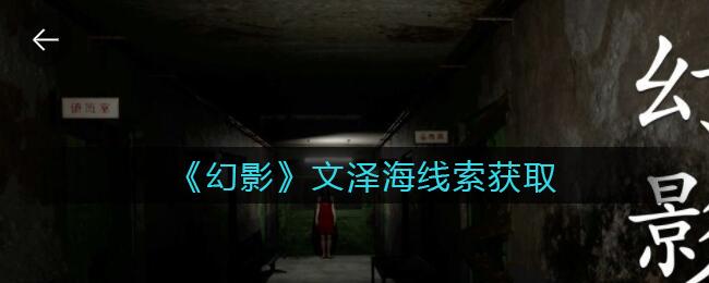 《孙美琪疑案:幻影》三级线索——文泽海