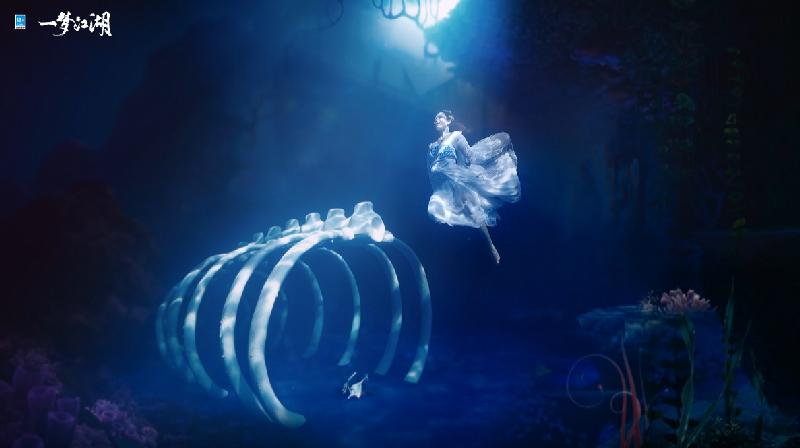 绝美水下舞《一梦江湖》泠音门派水下舞蹈视频曝光