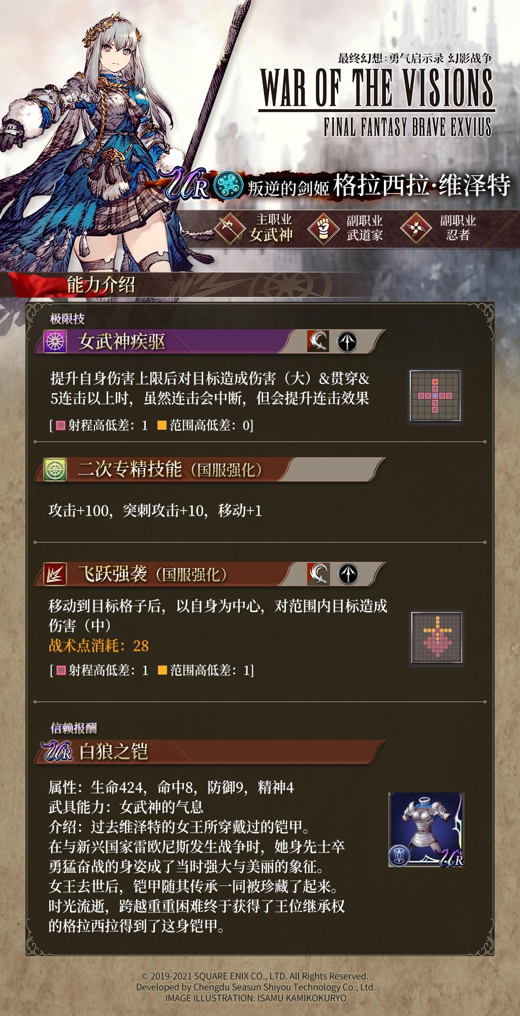 《最终幻想:勇气启示录幻影战争》格拉西拉维泽特角色介绍