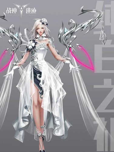 《战神遗迹》七夕时装纯白之礼一览