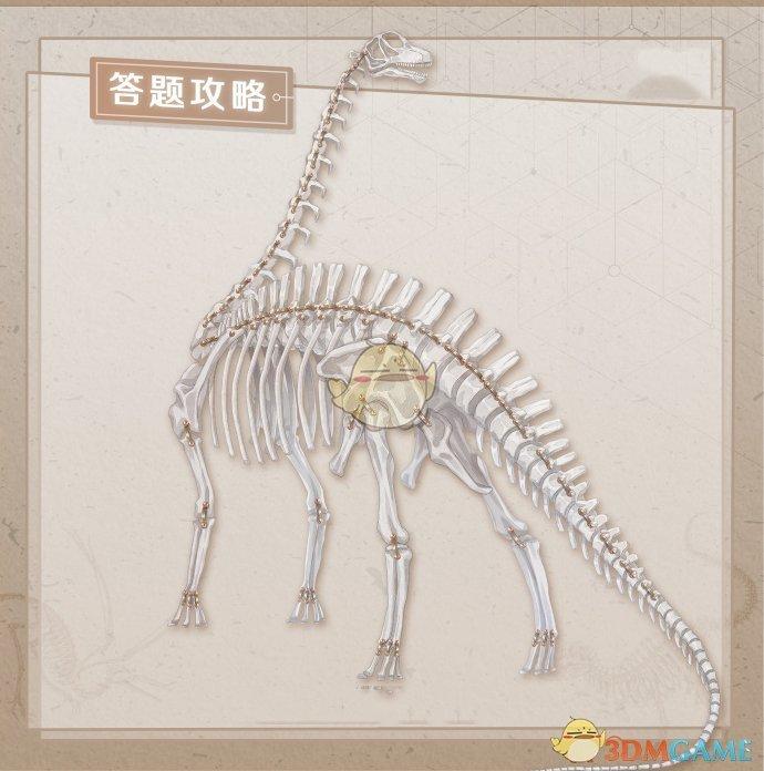 《奇迹暖暖》远古化石馆答题攻略
