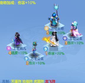 《神武3》手游竞技场攻略——东海龙宫篇