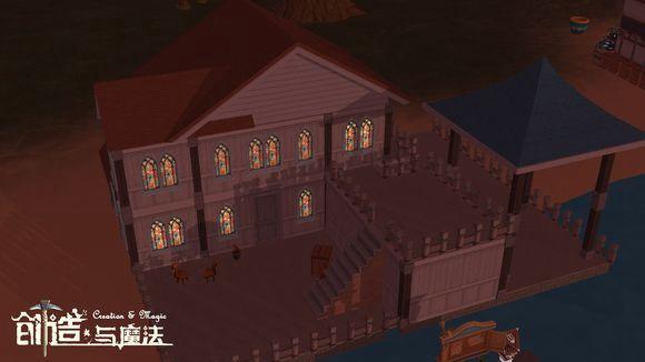 创造与魔法海边别墅设计图 海边别墅平面设计图纸