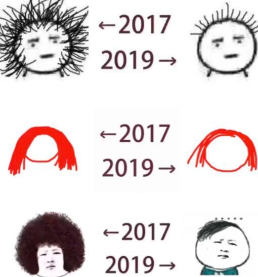 2017和2019对比图片素材分享