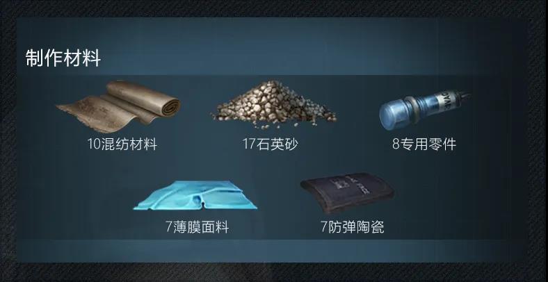 《明日之后》5级基础护盾配方介绍