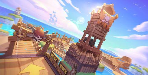 《跑跑卡丁车手游》海盗峭壁瞭望塔技巧分享
