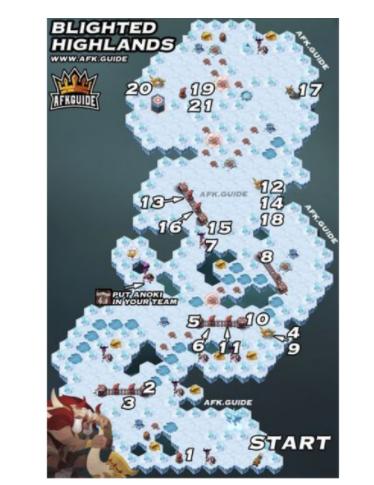 《剑与远征》雪与火宝箱位置分布攻略