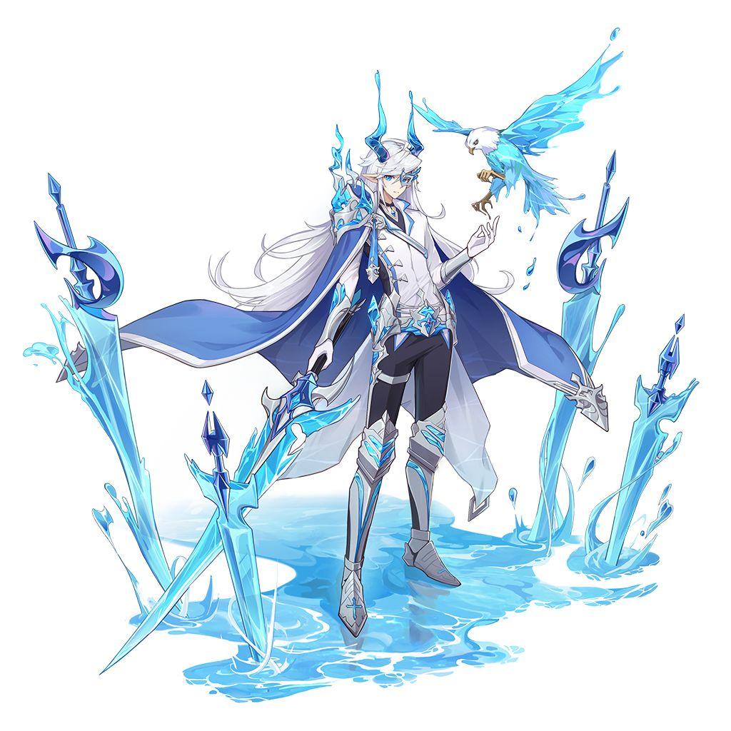 《奥拉星手游》水之精灵王圣剑梅卡技能介绍