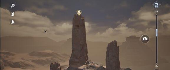 《全民奇迹2》埋骨沙漠拍照位置分享
