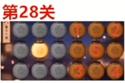 《火影忍者手游》2021中秋节花灯第28关攻略