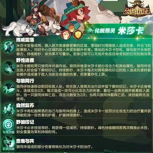 《剑与远征》米莎卡试炼之地通关攻略